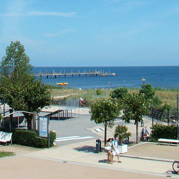 Die Lage - Villa Anna Ostsee Ausblick