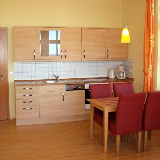 Das Apartment - Villa Anna Ostsee Küche