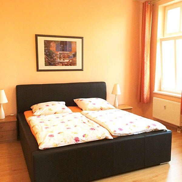 Das Apartment - Villa Anna Ostsee Schlafbereich